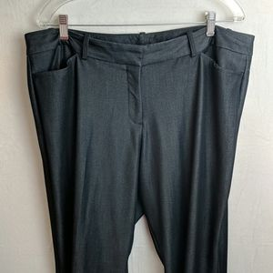 Worthington size 16w modern fit grey career slacks